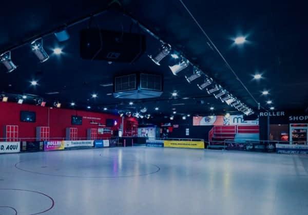 pista de patinaje en moratalaz